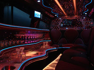 limo car interior