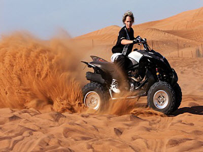Dubai Dune Buggy ride
