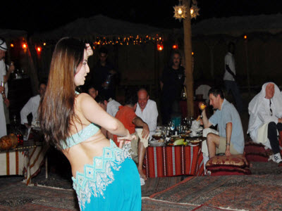 belly dance dubai desert