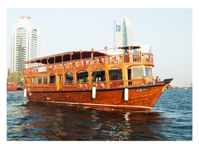 Dhow Cruise Exterior