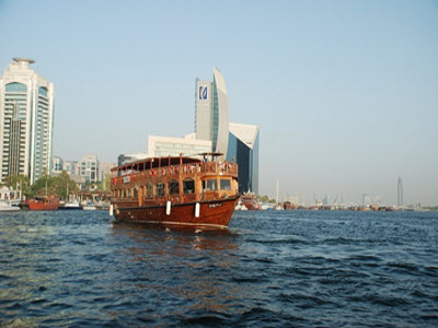 Dhow Exterior