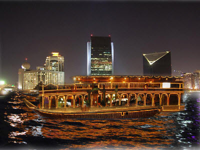 dhow cruise night