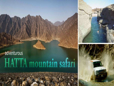 Hatta moutain safari