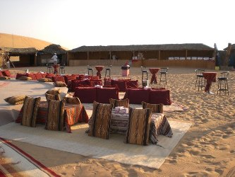 desert camp in abu dhabi