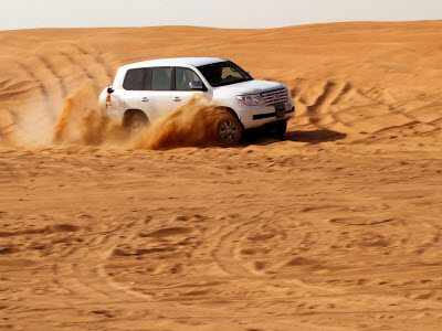 Dune Bashing in Dubai Desert Safari