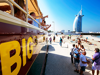Big Bus at burj al arab