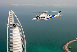 Helicopter Tour Dubai of 15 Minutes