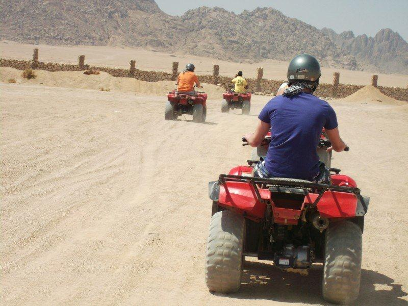 Desert Safari Quad biking