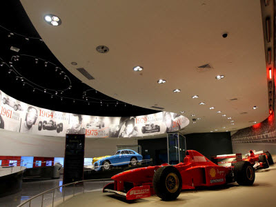 Ferrari World inside view