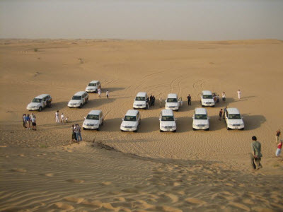 Morning Desert Safari in Dubai City