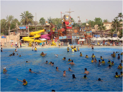 wild wadi water park dubai city